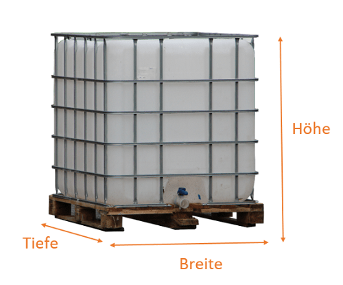 IBC Container Maße